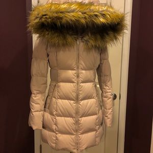 USED Ivanka Trump - Faux Fur Winter Puffer